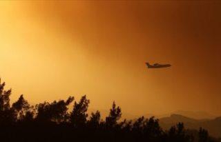 AB'den Türkiye'ye yangın söndürme uçağı...