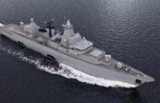 İsveç, Alman donanmasının F123 fırkateynlerini...