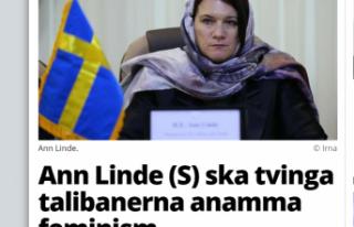 İsveç Dışişleri Bakanı: Taliban'ı insan...