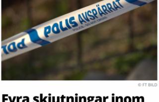 İsveç'te 5 saat içinde 4 silahlı saldırı:...