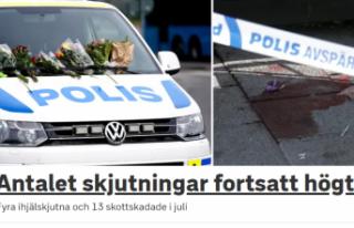 İsveç'te bir ayda 34 silahlı saldırı: 4...