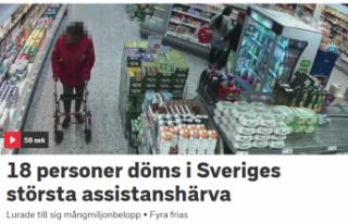 İsveç'te Sosyal Sigortaları 43 milyon kron...