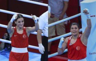 Tokyo 2020: Milli boksörler Buse Naz Çakıroğlu...