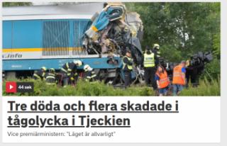 Tren kazası :üç kişi öldü