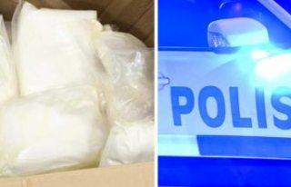 Uppsala'da uyuşturucu operasyonu