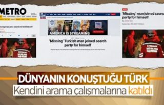 Bursa'da 'kendini arayan adam' dünya...