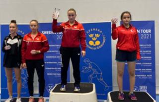 Büşra Demir İsveç´te İki Gümüş Madalya Kazandı