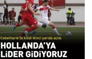 Cebelitarık'ı 3 golle geçen Türkiye A Milli...