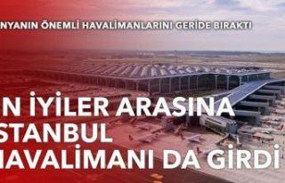 İstanbul Havalimanı, 'Dünyanın En İyi 10 Havalimanı'...