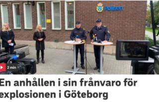 İsveç'in Göteborg kentindeki patlamayla bağlantılı...