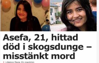 İsveç'te bir torba içinde insan cesedi parçaları...