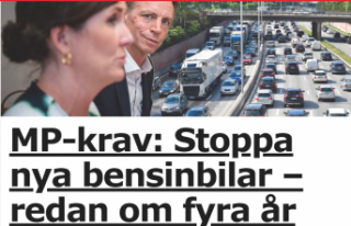 İsveç'te hükümet ortağı Yeşiller benzin...