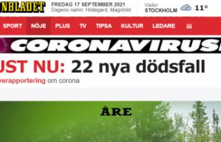 İsveç'te Kovid-19'dan 22 kişi hayatını...