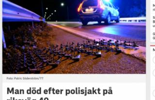 İsveç'te polisle araç kovalamacısı ölümle...