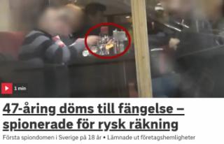 İsveç'te Rusya adına casusluk yapan kişiye...
