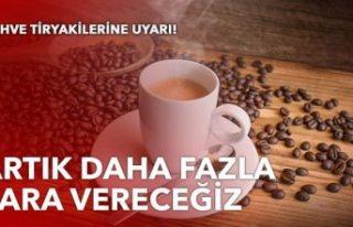Kahve tiryakilerine kötü haber: 'Yüzde 60'ı...