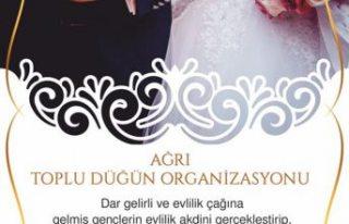 UID İsveç'ten ihtiyaç sahibi çiftlerin evlendirme...