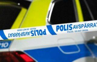 Uppsala'da bir kişi polis tarafından vuruldu