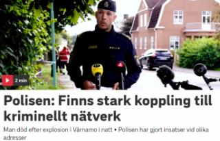 Värnamo'da bombalı saldırı: Bir kişi öldü