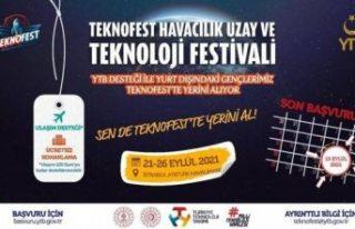 Yurt dışında yaşayan gençler #Teknofest'te...
