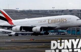 Dünyanın en büyük uçağından İstanbul'a...