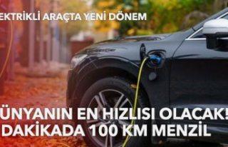 Dünyanın en hızlı elektrikli aracı! 15 dakikada...