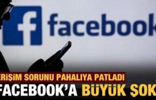 Facebook hisseleri erişim sorunuyla yüzde 5'in...