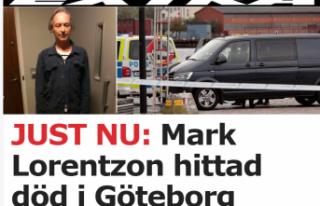 Göteborg'deki bombacısı ölü bulundu