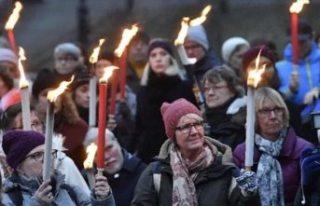 Kuzey Avrupa'da kadına şiddet artıyor!