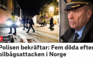Norveç'te oklu saldırıda 5 kişi hayatını...