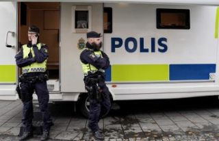 Stockholm'de silah sesleri