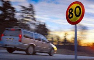 80'lik yolda 100'le giden şoföre, 500...