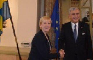 AB Bakanı ve Başmüzakereci Volkan Bozkır, İsveç'te