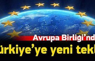 AB'den Türkiye'ye yeni teklif