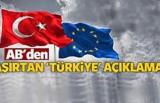 AB Dönem Başkanı'ndan Türkiye açıklaması