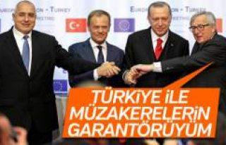 AB Komisyonu Başkanı Juncker: Türkiye için garantörüm