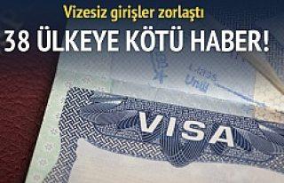 ABD'den İsveç'e garip vize uygulaması