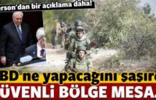 ABD'den Türkiye'ye 'güvenli bölge'...