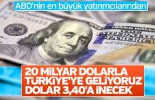 ABD'li şirket Türkiye'ye 2 trilyon dolarlık...