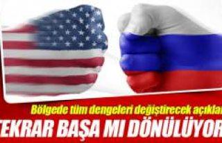 ABD, Rusya ile Suriye kapsamındaki ikili anlaşmaları...