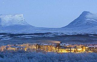 Abisko: İsveç'in en kuzey ucu...