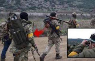 Afrin'den sıcak görüntü! Sarı bandın sırrı