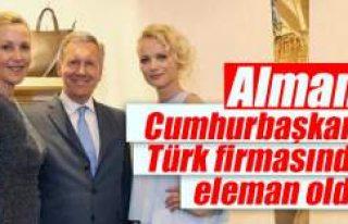 Alman Cumhurbaşkanı Türk firmasında eleman oldu
