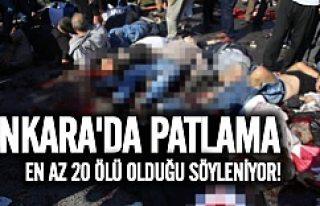 Ankara'da büyük patlama! Ölü ve yaralılar...