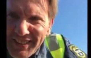 Arapça konuşan İsveçli güvenlik görevlisi Ebu...