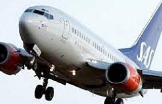 Arlanda'da Korkulu anlar: uçağa yıldırım...
