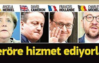 Avrupa terörist listesini bilerek saklıyor
