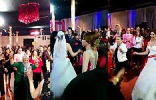 Avrupa'da Yöresel Türk Düğünleri Avrupalıları...