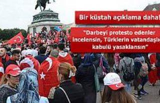 Avusturya'da darbe karşıtı Türklere baskı...