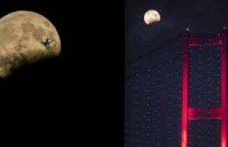 Ay tutulması Türkiye'den böyle görüldü